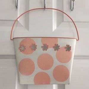 Other - Polka dot hanging mail caddy